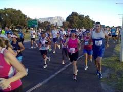 Peninsula Marathon bei km 22