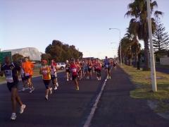 An der Laufstrecke