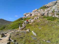 Wanderung am Kap